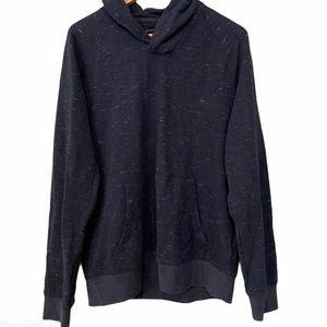 Banana Republic Factory Cowl Neck Navy Sweater
